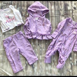 ⭐️ Buy 2 GET ONE FREE Purple Giraffe Set: 4 pieces